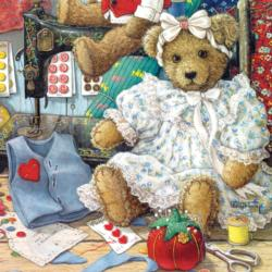 Bears and Bows Toys Jigsaw Puzzle