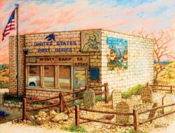 Wyatt Earp Post Office Nostalgic / Retro Jigsaw Puzzle