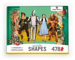 The Wizard of OZ-Yellow Brick Road Movies / Books / TV Shaped Puzzle