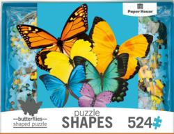 Butterfly Cluster Butterflies and Insects Jigsaw Puzzle