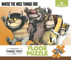 Where the Wild Things Are - Scratch and Dent Movies / Books / TV Floor Puzzle