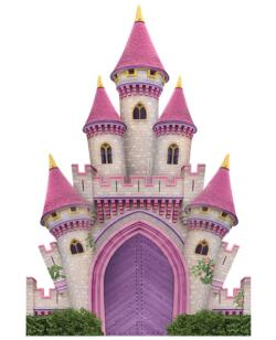 Castle Castles Shaped Puzzle