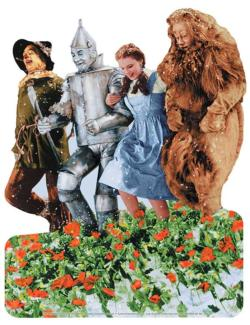 Wizard of Oz Poppy Fields Wizard of Oz Children's Puzzles