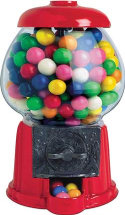 Bubble Gum Machine Scratch & Sniff (Mini) Sweets Children's Puzzles