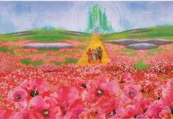 Poppy Fields Movies / Books / TV Jigsaw Puzzle