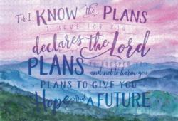Know the Plans Inspirational Jigsaw Puzzle
