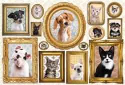 Pet Gallery Wall Photography Jigsaw Puzzle