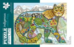 Cougar Native American Jigsaw Puzzle