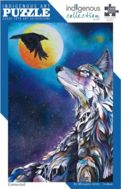Connected Wolves Jigsaw Puzzle