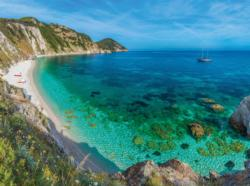 Elba Island, Tuscany Seascape / Coastal Living Jigsaw Puzzle