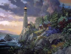 Coastline Watch Lighthouses Jigsaw Puzzle