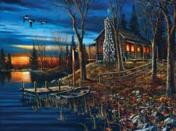 Complete Serenity Cottage / Cabin Jigsaw Puzzle