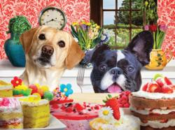 Just One Bite Dogs Jigsaw Puzzle