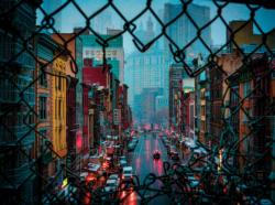 Chinatown Weather Asia Jigsaw Puzzle