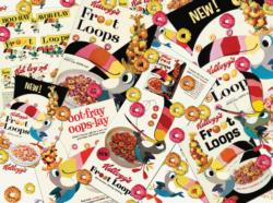 Retro Froot Loops Food and Drink Jigsaw Puzzle