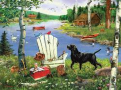 Lazy Afternoon Lakes / Rivers / Streams Jigsaw Puzzle