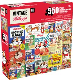 Frosted Flakes Collage Jigsaw Puzzle