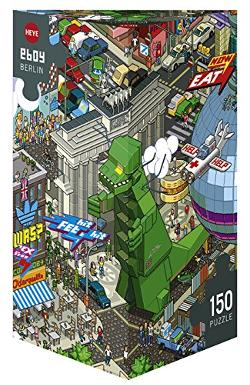 eBoy Berlin (Art Lab) Cities Jigsaw Puzzle