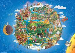 The Earth Travel Jigsaw Puzzle
