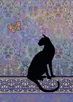 Silhouette (Cats) Cats Jigsaw Puzzle
