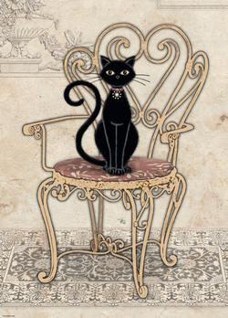 Cats Chair Cats Jigsaw Puzzle
