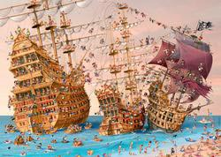 Corsair (Pirate Ship) Pirates Jigsaw Puzzle