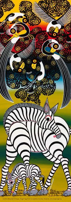 Zebras (Tinga Tinga) Zebras Jigsaw Puzzle
