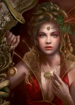 Gold Jewellery (Forgotten) Fantasy Jigsaw Puzzle