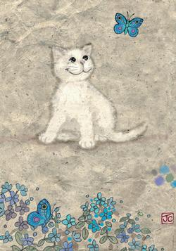 White Kitty, Cats Cats Jigsaw Puzzle