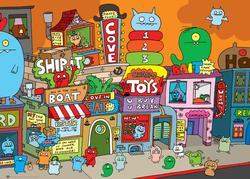 Uglytown Cartoons Jigsaw Puzzle