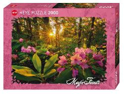 Rhododendron (Magic Forests) Sunrise/Sunset Jigsaw Puzzle