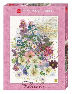 Pink Creation (Florals) Flowers Jigsaw Puzzle