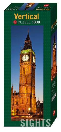 Big Ben London Vertical Puzzle