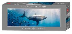 White Shark Photography Panoramic Puzzle