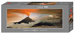 Bald Volcano Photography Panoramic Puzzle