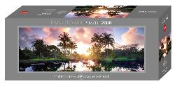 Palm Trees Photography Panoramic Puzzle