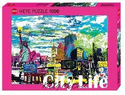 City Life, I Love New York! Amsterdam Jigsaw Puzzle