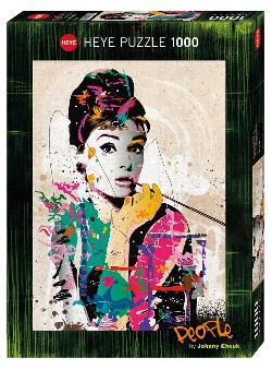 Audrey (People) Contemporary & Modern Art Jigsaw Puzzle