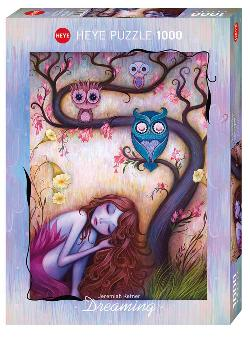 Wishing Tree (Dreaming) Owl Jigsaw Puzzle