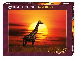 Sunny Giraffe Nature Jigsaw Puzzle