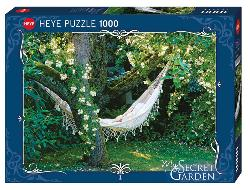 Hammock (My Secret Garden) Photography Jigsaw Puzzle