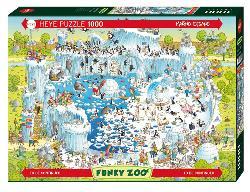 Polar Habitat (Funky Zoo) Snow Jigsaw Puzzle