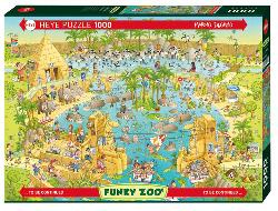 Nile Habitat Cartoons Jigsaw Puzzle