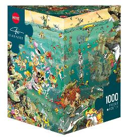 Under Water - Scratch and Dent Mermaids Jigsaw Puzzle