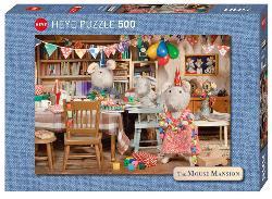 Mouse Mansion, Celebration Photography Jigsaw Puzzle