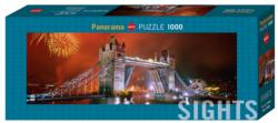 Sights Tower Bridge London Panoramic Puzzle