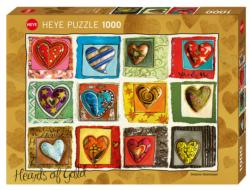 You & Me Hearts Jigsaw Puzzle