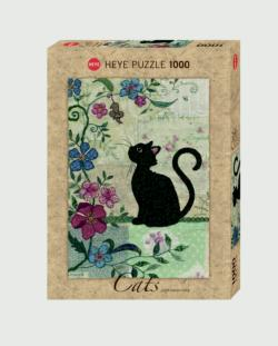 Cat & Mouse Cats Jigsaw Puzzle