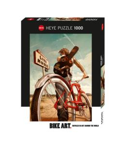 Music Ride Cartoons Jigsaw Puzzle