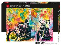 Easy Rider Motorcycles Jigsaw Puzzle